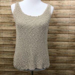 Eileen Fisher Italian yarn 🧶 knit top sz XS